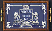 Boodles British Gin Vintage Mirrored Serving Tray