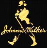 Johnnie Walker Black Label Scotch Whisky Vintage NEW Smoked Glass Bar Mirror