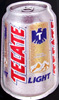 Tecate Light Mexican Beer Tin Beer Can Sign