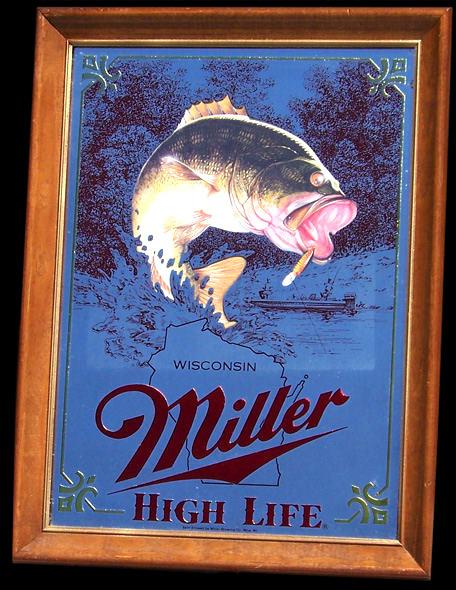 Miller High Life 1st Edition Sportsmens Series Bass