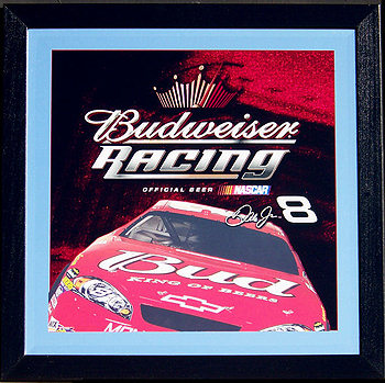 Budweiser Racing Dale Jr 8 Brand New Old Stock Beveled