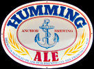 Anchor Brewing Company Humming Ale Tin Sign