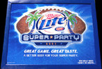 Miller Lite SUPER PARTY Football Mirror