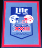 Miller Lite Beer Super Bowl 23 Bar Mirror