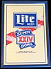 Miller Lite Super Bowl 24 Mirror