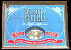 Olympia Gold Smoked Glass Mirror