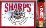 Miller Sharp's non-alcoholic Malt Beverage Mirror with Free Tap Handle