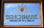 Benchmark Premium Bourbon Vintage Bar Mirror