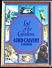 Lord Calvert Canadian Whiskey Vintage Wildlife Bar Mirror
