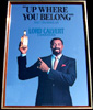Lord Calvert Whiskey Wilt Chamberlain Vintage Bar Mirror