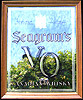 Seagram's VO Smoked Glass Mirror