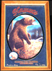 Hamm's 1993 Vintage Grizzly Bear Wildlife Bar Mirror