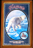 Hamm's 1993 Vintage Polar Bear Wildlife Bar Mirror