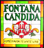 Fontana Candida Roman Wine Simulated Stained Glass Sun Catcher
