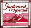 Inglenook Navalle Winery Simulated Stained Glass Translucent Sun Catcher