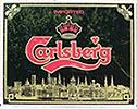 Carlsberg Beer Plastic Sign