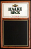 Haake Beck Oak Framed Chalk Board