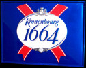 Kronenbourg 1664 Lager Beer Tin Sign