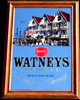 Watneys Red Barrel Traditional Beer Bar Mirror