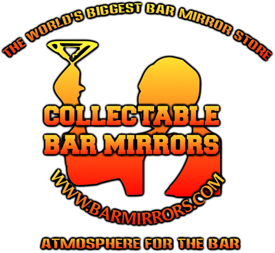 COLLECTABLE BAR MIRRORS - World's Biggest Bar Mirror Store - Beer