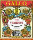 Gallo Vermouth 1962 Trophy Vintage Bar Mirror