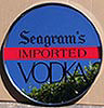 Seagram's Imported Vodka Mirrored Tray