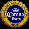 Corona Extra Bottlecap Tin Sign