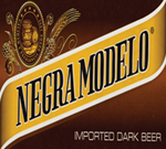 Negra Modelo Unwrap the Mystery Beveled Glass Bar Mirror