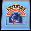Bailey's Irish Cream Gold Framed Bar Mirror