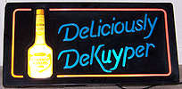 DeKuyper Peppermint Schnapps Illuminated Sign