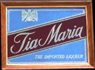 Tia Maria The Imported Liqueur Vintage Bar Mirror