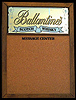 Ballantines Scotch Whisky Mirrored Cork Board