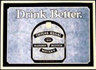 Chivas Regal Scotch Whisky - Drink Better - Vintage Bar Mirror