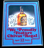 Chivas Regal Proudly Featured Scotch Whisky Mirror