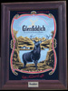 Glenfiddich Single Malt Scotch Whisky Valley Of Deer Large Mirror Bar Mirror