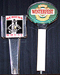 Set of 2 Coors Winterfest & Rubicon Wheat Tap Handles