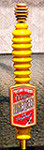 Portland Brewing Oregon Honey Beer Tap Handle