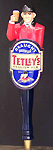 Tetley's English Ale Draught Smoothflow Figurine Tap Handle