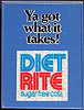 Diet Rite Cola - You've Got What It Takes Vintage Bar Mirror