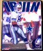 Dallas Cowboy Michael Irwin Framed Poster