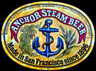 Anchor Steam, Made in San Francisco Since 1896 NEW Tin Sign