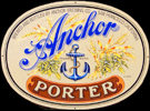 Anchor Brewing Co. San Francisco Porter Tin Sign