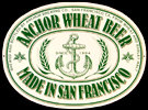 Anchor Brewing Co. San Francisco Wheat Beer Tin Sign