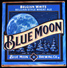 Blue Moon Belgian White Ale NEW Tin Sign