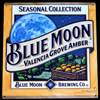 Blue Moon Valencia Grove Amber Ale NEW Bar Tin Sign