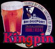 BridgePort KINGPIN Double Red Ale NEW Tin Sign