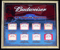 Budweiser 2007 Labels Mirror Football