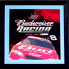 Budweiser Racing Dale Jr #8 BRAND NEW OLD STOCK Beveled Glass Bar Mirror