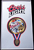 Coors Light Gold Medal Award Bar Sign