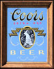 Coors Extra Dry Beer Vintage Bar Mirror